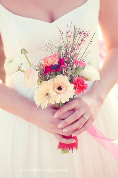 Shooting d'inspiration décoration de mariage  : Pink & Glitter (Part 2)