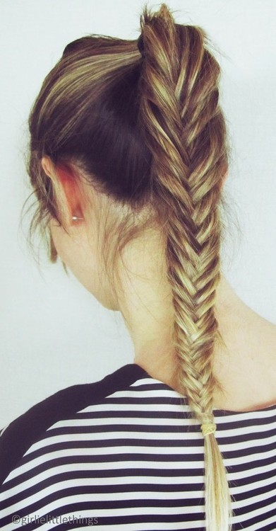 Tendance coiffure mariage : La fishtail braid