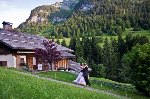 Vrai mariage {Ludovic & Agnès}. Mariage ambiance Montagne.