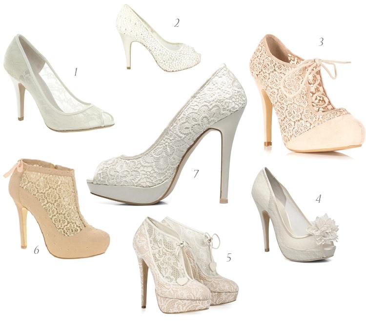 {Shopping Mariage} Des chaussures en dentelle