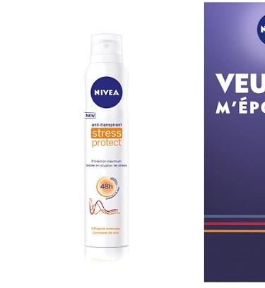 {Test Produit} Anti-transpirant Stress Protect de Nivea