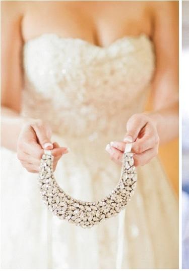 {Accessoires Mariage} Le collier de la Mariée