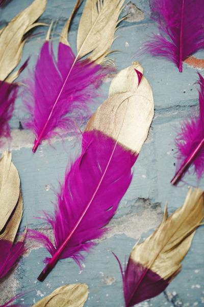 {Décoration Mariage} Le thème des plumes