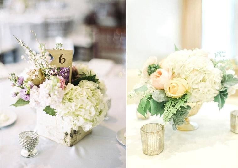 {Fleurs} 10 Idées pour décorer son mariage avec des hortensias