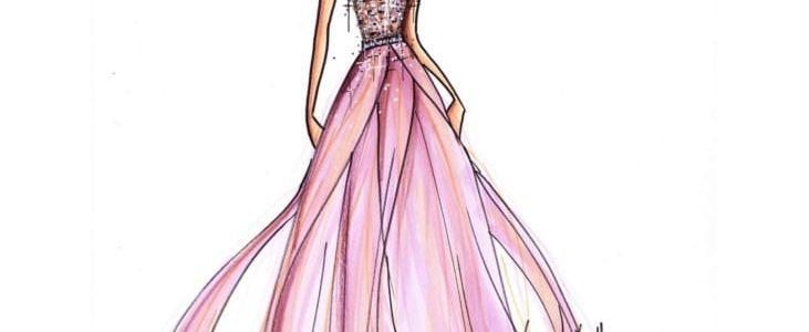 Nicolas Fafiotte et Pronuptia pour la robe Miss France 2015