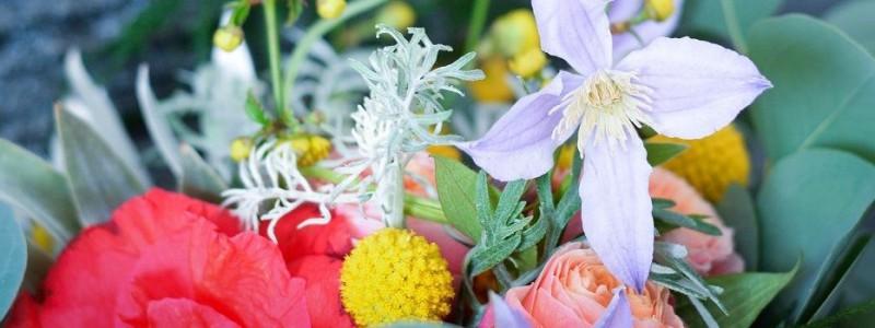 Bouquet de mariée : Avril Coloré