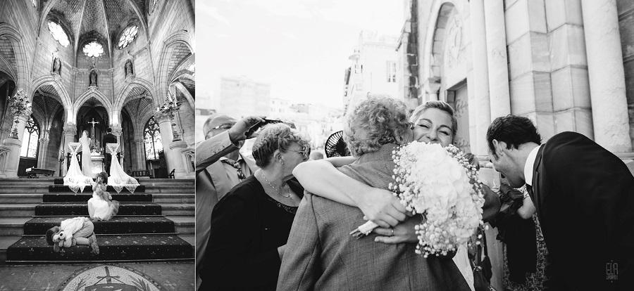 mariage église Sainte Eugénie biarritz