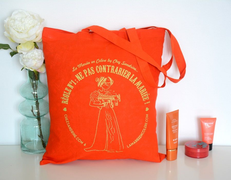 sac la mariée en colère orange