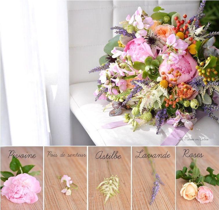 bouquet de mariée juillet