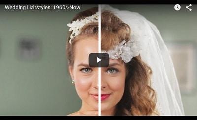 Les coiffures de mariée à travers le temps