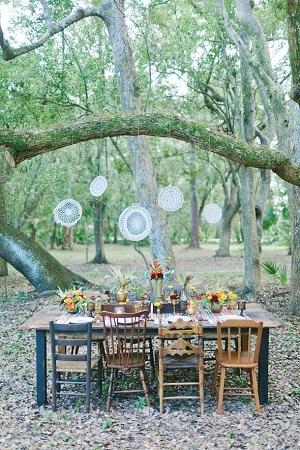 décoration mariage hippie