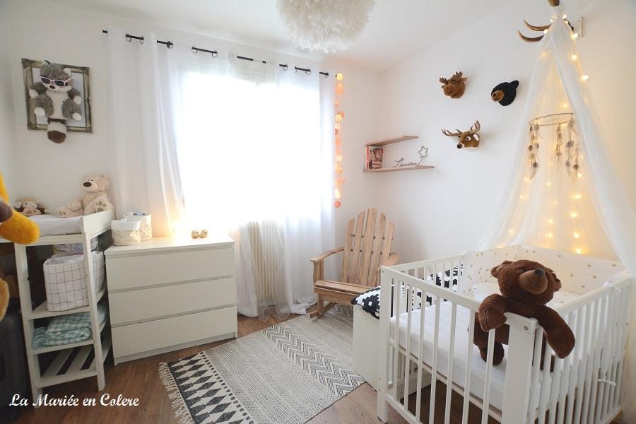 décoration chambre bébé douceur