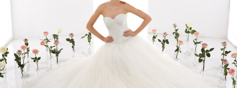 Robes de mariée 2016 : 10 modèles de princesse