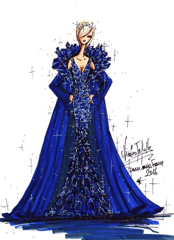 robe miss france 2016