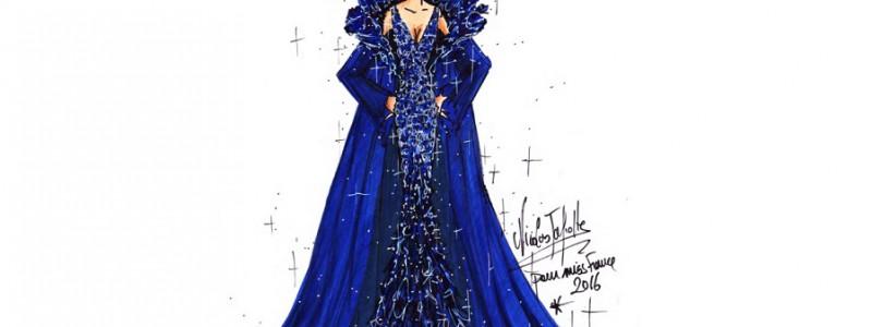 La robe de Miss France 2016 dévoilée