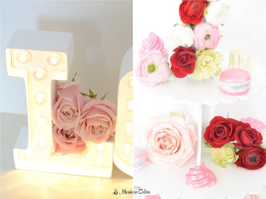centre de table fleuri gourmandise (3)