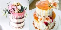 {Dessert de Mariage} le Drip Cakes