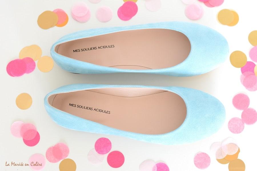 chaussures de mariée personnalisées