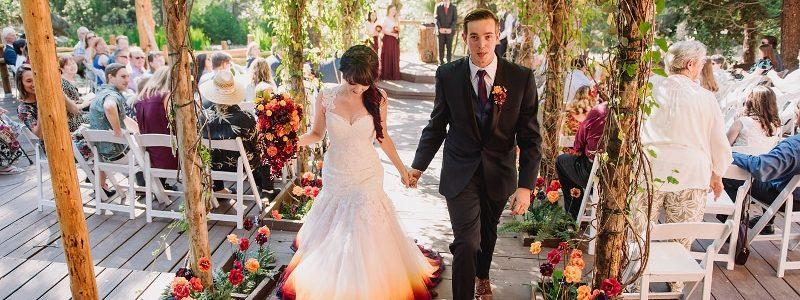 Robe de mariée originale : et si on optait pour le Dip-dyed ?