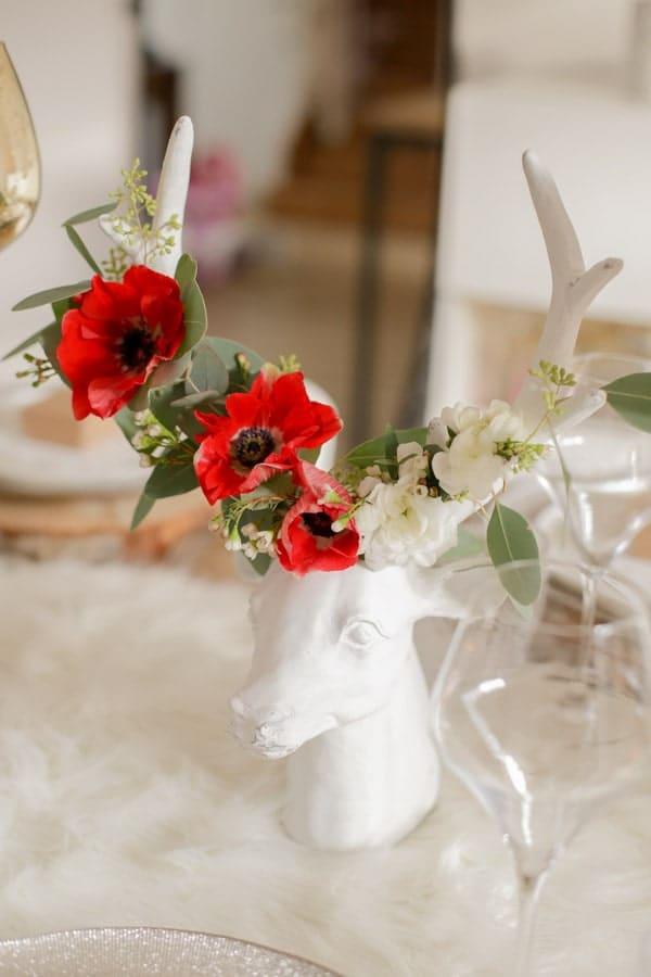 décoration table noel chic