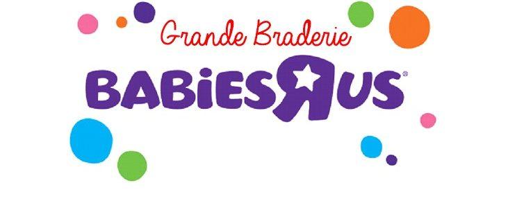 «Grande Braderie» Babies «R» Us, mes bons plans