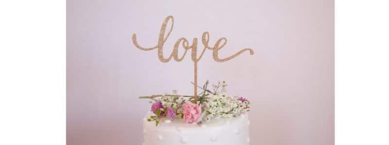 40 cake-toppers pour décorer mon dessert de mariage