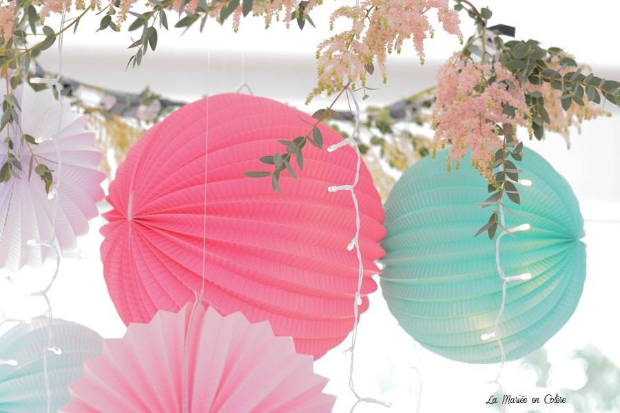 blog décoration mariage