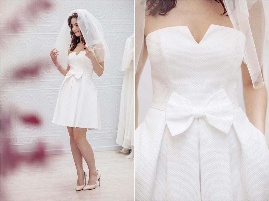 robe mariée civile