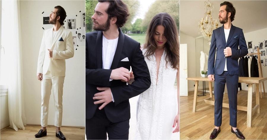 habits de mariés paris