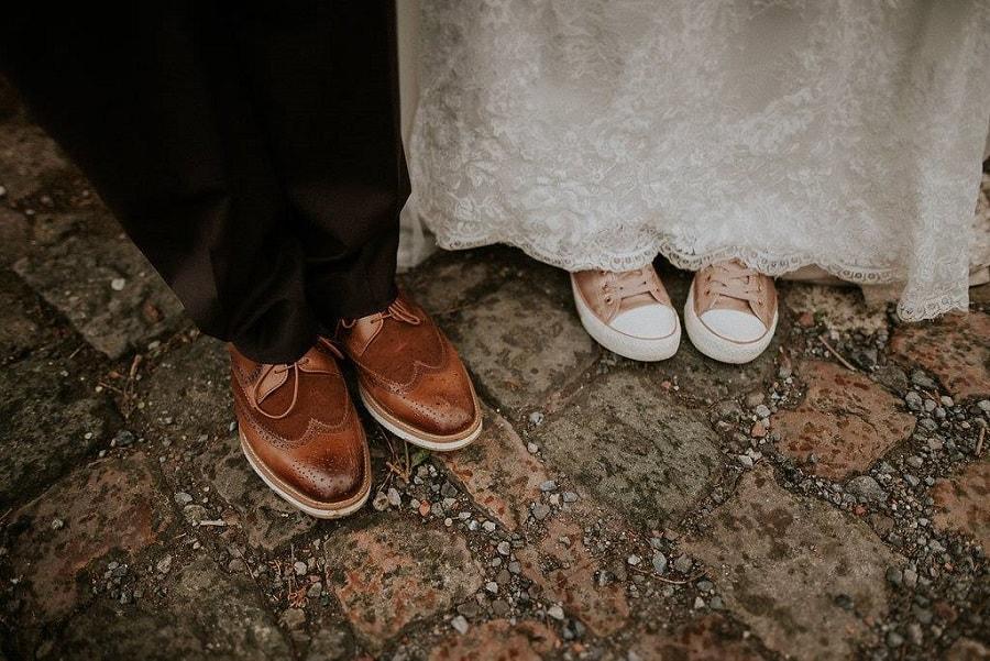 3c152f5a9f1  Témoignages  Mes chaussures originales de mariée