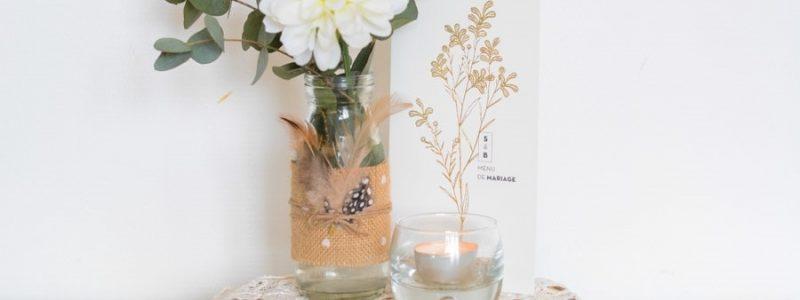 {DIY} Les vases bohèmes de votre mariage