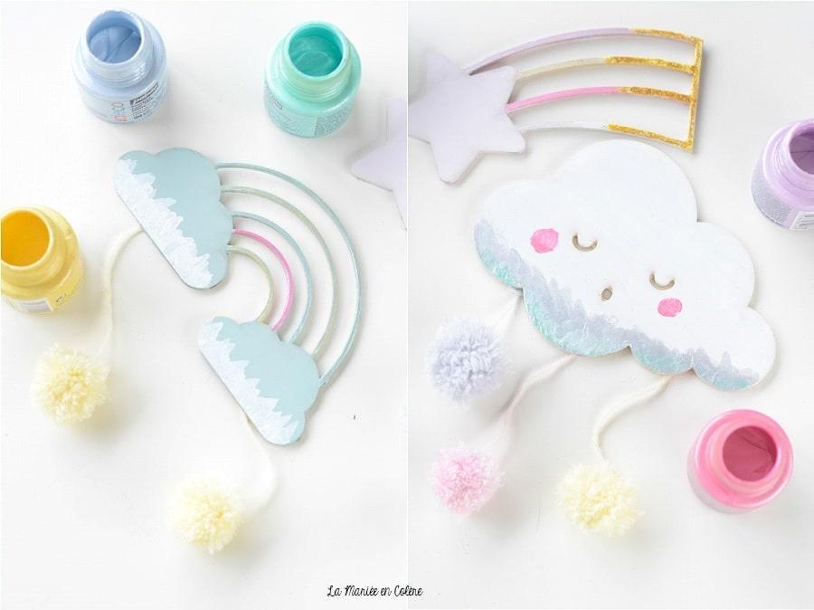 décoration pastel chambre enfant DIY