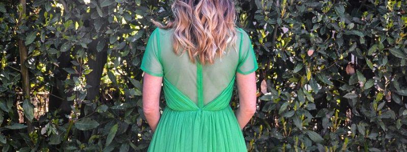 Look D'invitée à un mariage #5 La petite robe verte