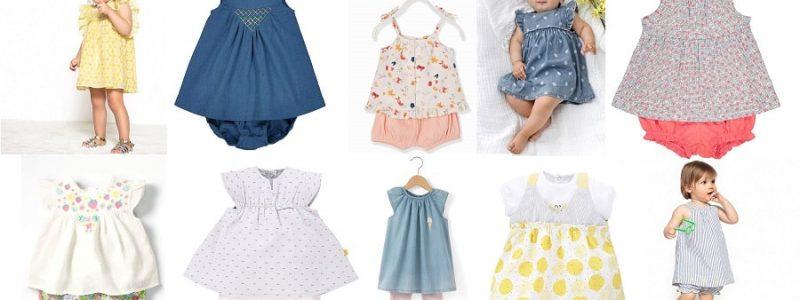 Ma sélection shopping «petites tenues» d'été pour bébé