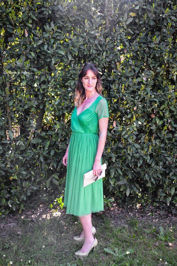 920a12a91b4 Look D invitée à un mariage  4 La petite robe verte