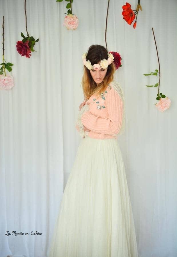 cardigan mariée