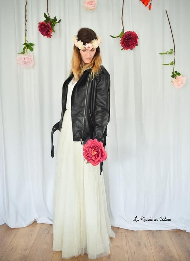 veste tenue mariée