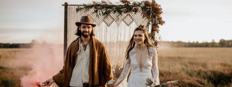 Comment réaliser un mariage sur le thème bohème