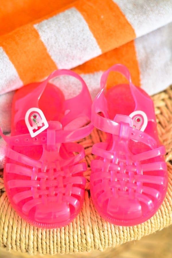 chaussures plage enfant