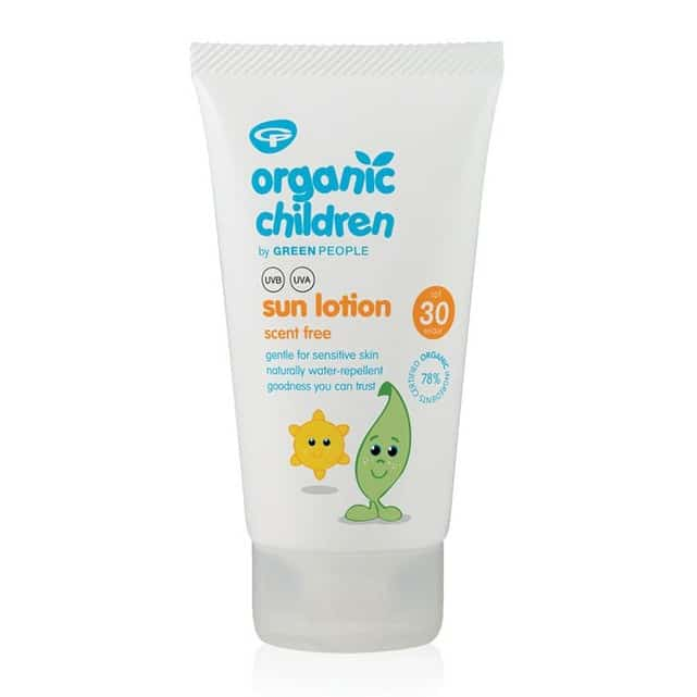crème solaire bébé