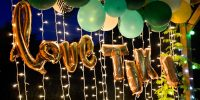 DIY : une arche de ballons Jungle