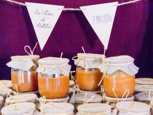 cadeau invités mariage pot caramel beurre salé