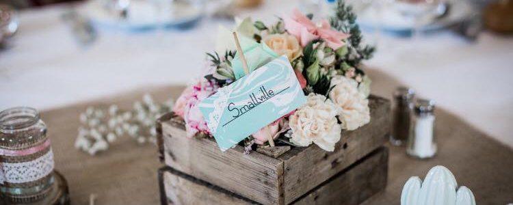 12 idées de centres de table originaux pour votre mariage