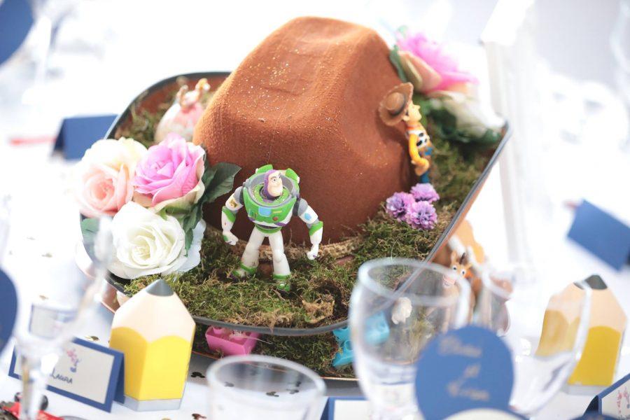 thème mariage disney table Toy Story