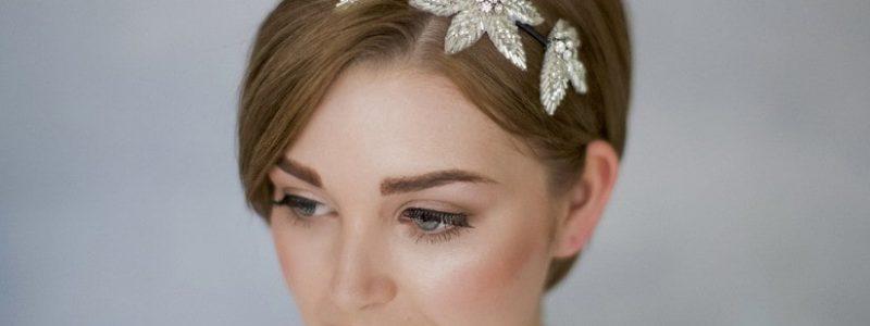 +15 idées pour une coiffure de mariée cheveux courts