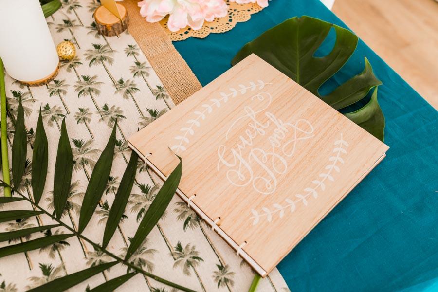 décoration table fête baptême mariage jungle