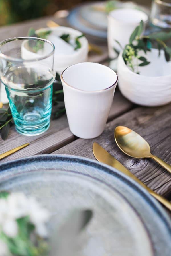 décoration table champêtre chic