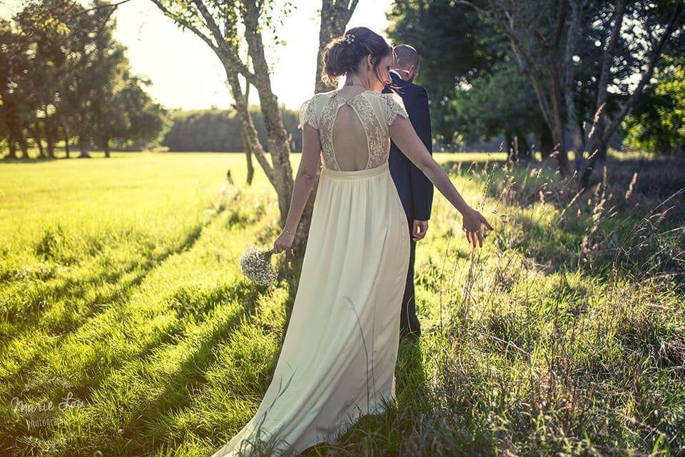 robe de mariée laure de Sagazan boutique le dressing club