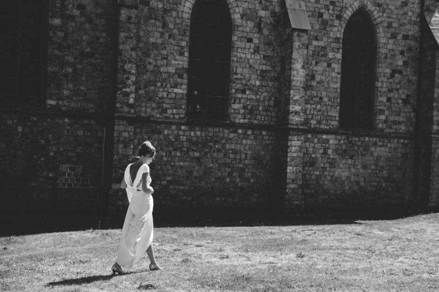mariée église