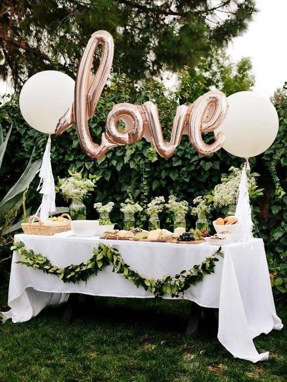 ballons aluminium mot love